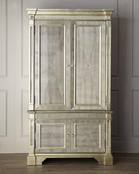 & Amelie Mirrored Cabinet