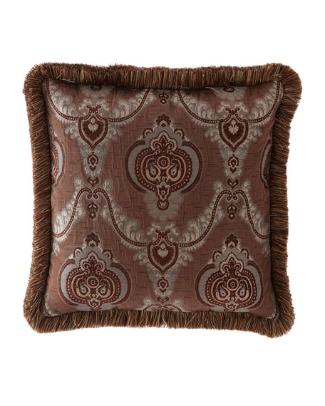 Each Brompton Court Medallion Brocade European Sham