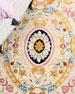 Feather Medallion Rug, 8' Round