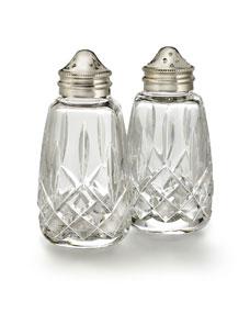 Salt Lamps Waterford : Waterford Crystal Lismore Salt & Pepper Shakers