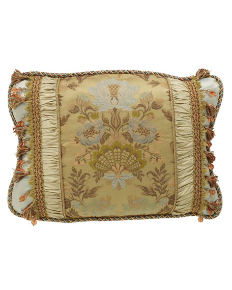 King Petit Trianon Scalloped Floral Sham