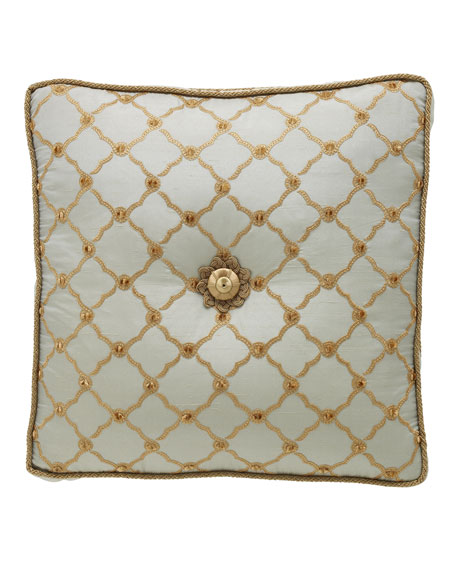 Petit Trianon Tufted Pillow, 18