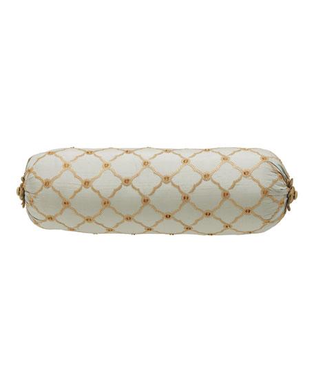 Petit Trianon Trellis Neckroll Pillow, 8