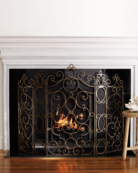 Paris Fireplace Screen