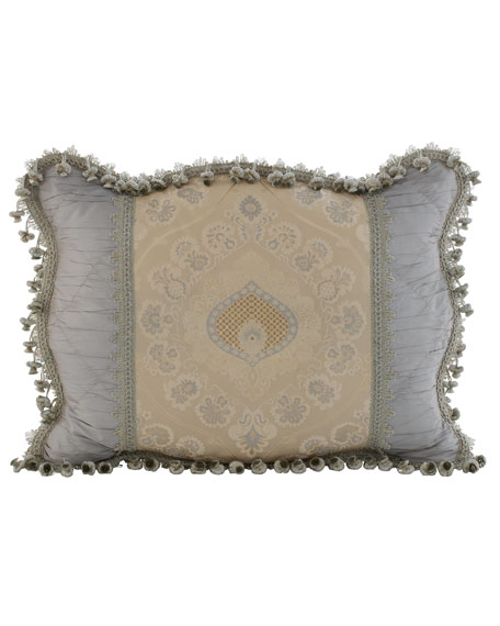 King Crystal Palace Medallion-Center Sham