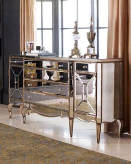 """Jerilynn"" Mirrored Buffet"