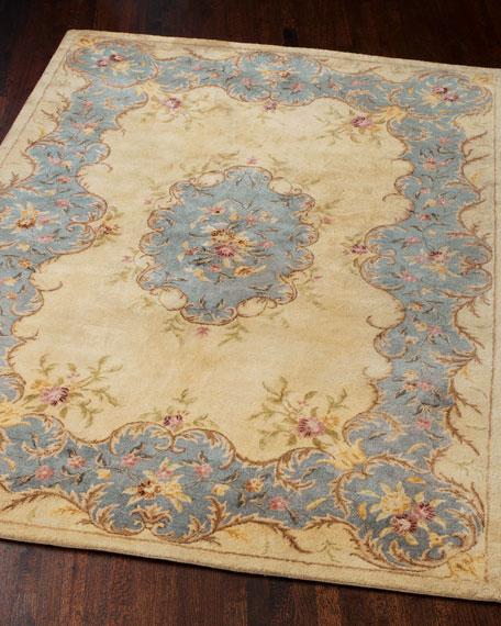 shop fine s rugs aubusson asmara multi color floral flat rug needlepoint size wool x area decor weave