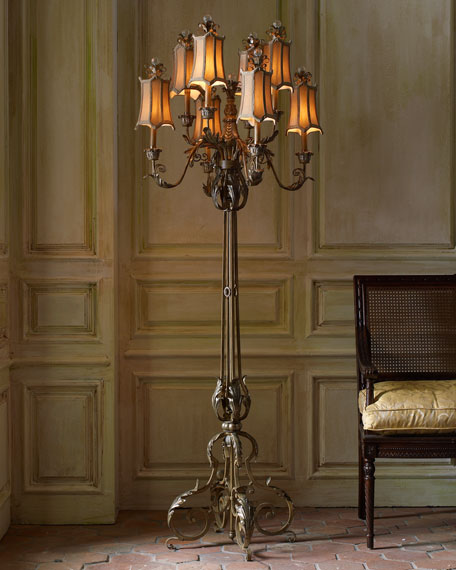 John Richard Collection Venetian Style Floor Lamp
