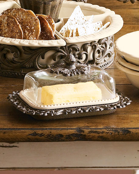 G G Collection Butter Dish