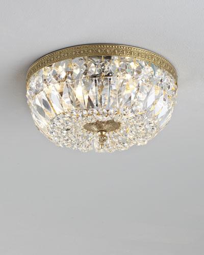 Large light fixtures Entrance Large Prism Brass Flushmount Ceiling Fixture Lamps Plus Ceiling Lights Ceiling Light Fixtures Horchow