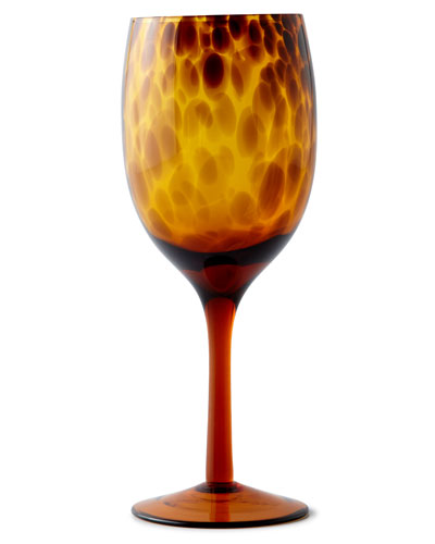 Tortoise Wine Goblets  Set of 4