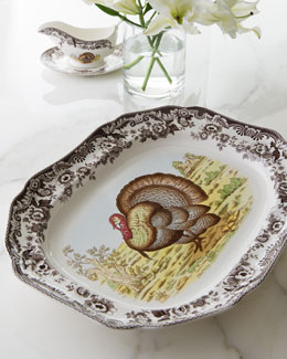 Woodland Turkey Platter