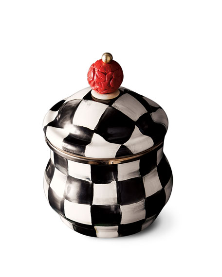 Courtly Check Sugar Bowl