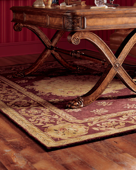 "Empire Medallion Rug, 3'6"" Round"