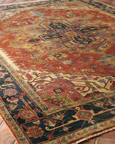 Washed Serapi Rug  12' x 15'