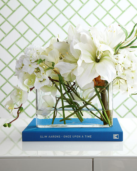 Faux Watergarden Arrangement