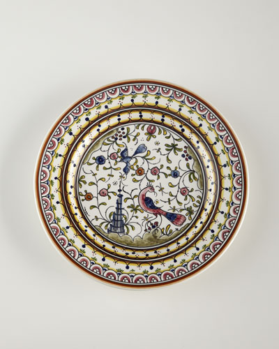 Four Pavoes Dinner Plates