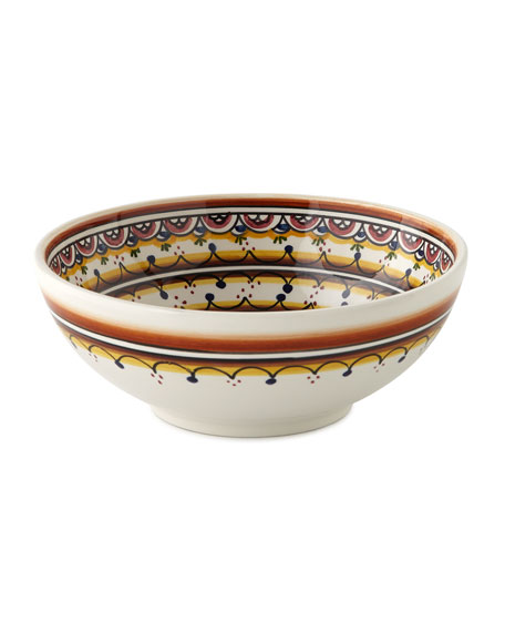 Four Pavoes Cereal Bowls
