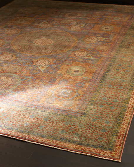 Gable Colors Rug, 4' x 6'