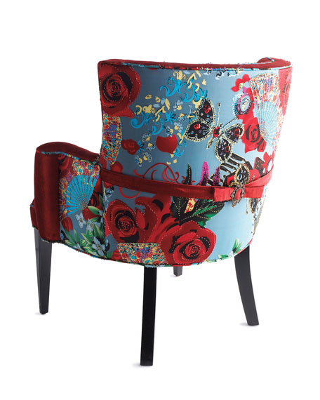 """Lipstick Rose"" Chair"