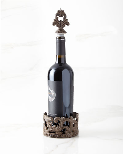 Wine Bottle Holder & Stopper
