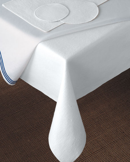 """59"""" x 118"""" Oblong Dining Table Pad"""