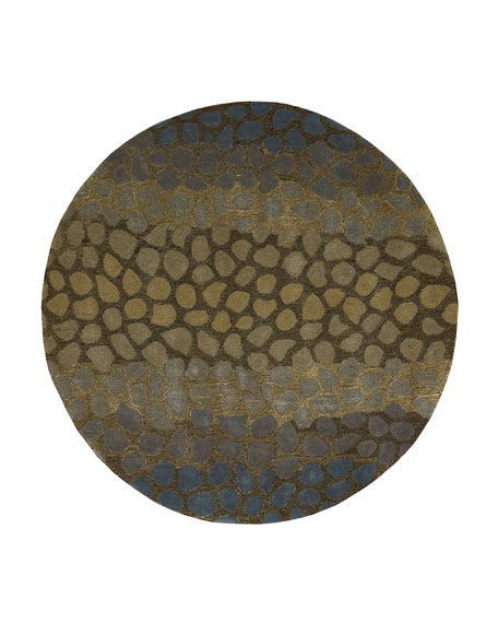 JADED PEBBLES RUG 8X11