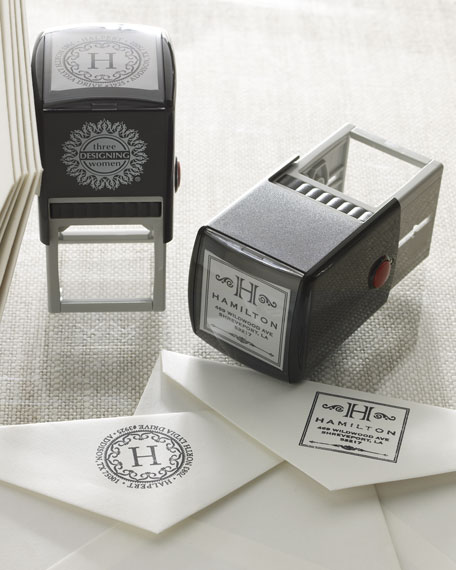 Round Personal Stamper