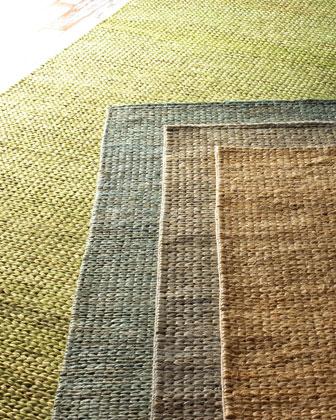 Earth Tones Braided Rug, 5' x 8'