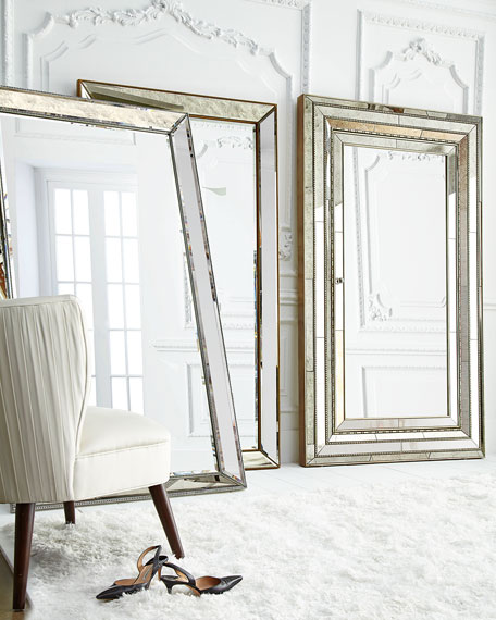 Charmant Glam Floor Mirror