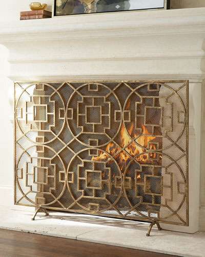 Pyra Fireplace Screen