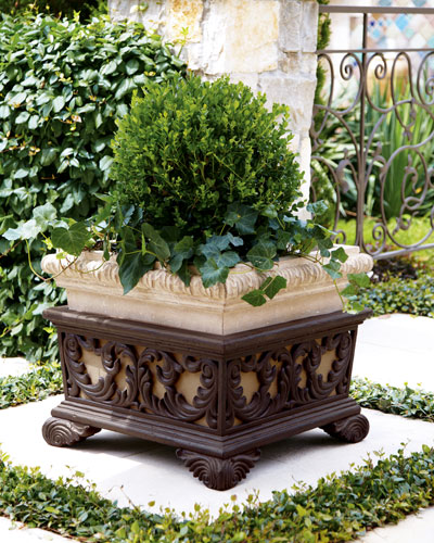 Square Planter with Stand