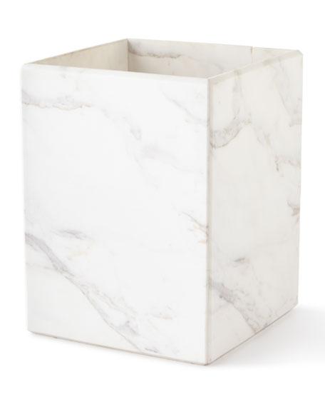 Marble Wastebasket