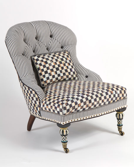 Underpinnings Accent Chair