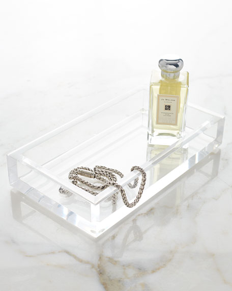 Solid Ice Vanity Tray