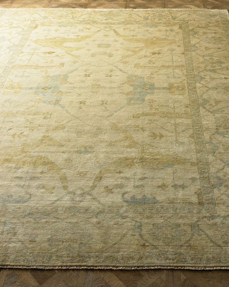 Exquisite Rugs Meadow Oushak Rug, 4' x 6'