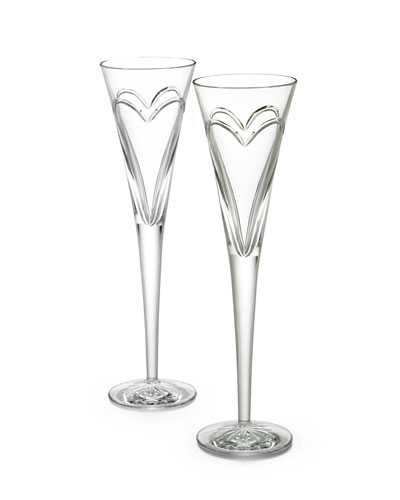 Wishes  Love  & Romance Flutes  Set of 2
