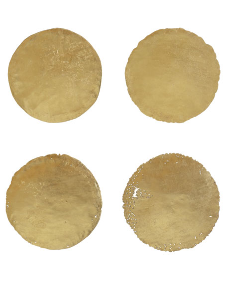 Four Oil Drum Lid Art Pieces