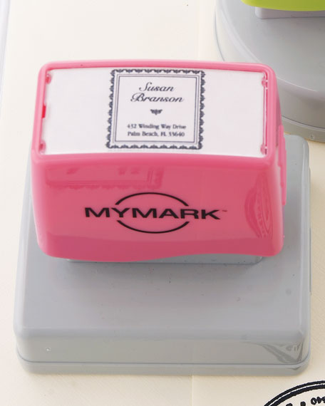 Square Name Self-Inking Stamp
