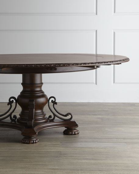Agatha Pedestal Dining Table
