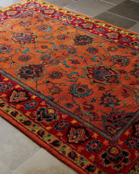 "Petra Traditional Rug, 3'6"" x 5'6"""