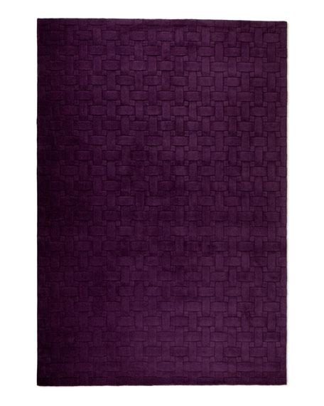 """Woven Textures Rug, 3'3"""" x 5'3"""""""