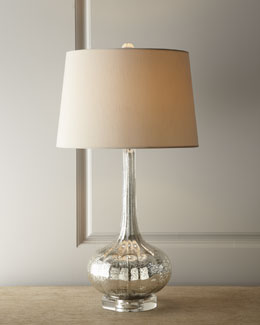 Regina-Andrew Design Antiqued Glass Table Lamp