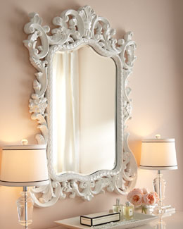 """Madeline"" Baroque Mirror"