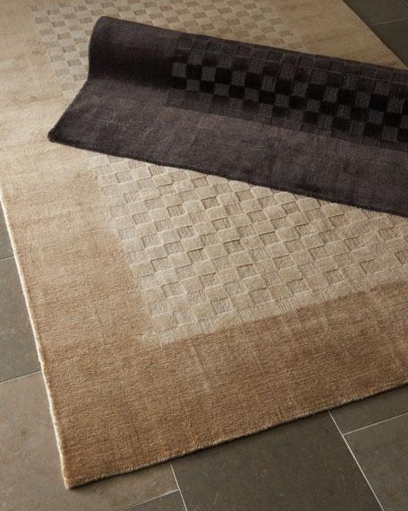 Checkered Rug, 9' x 12'