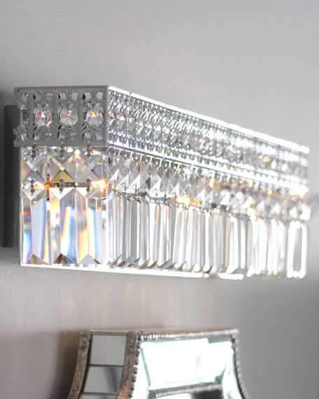 Polished Chrome Vanity Sconce
