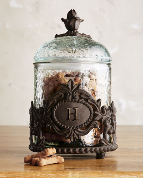 Personalized Pet Treats Jar