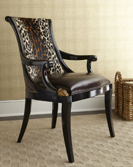 Maitland-Smith Maisie Hairhide Chair