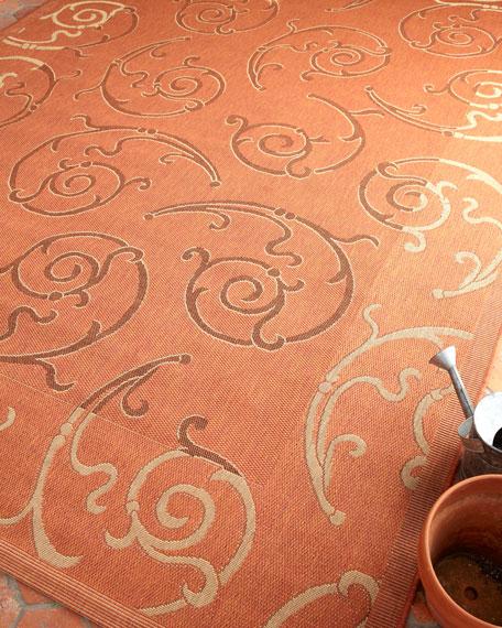 Safavieh Indoor Outdoor Rugs.Phyllis Scrolls Indoor Outdoor Rug 8 X 11 2