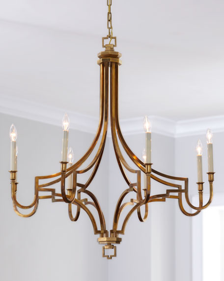 Lovely Visual Comfort Large Mykonos 8 Light Chandelier Awesome Ideas